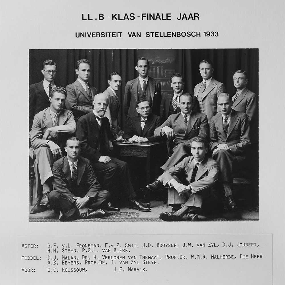 1933 LLB