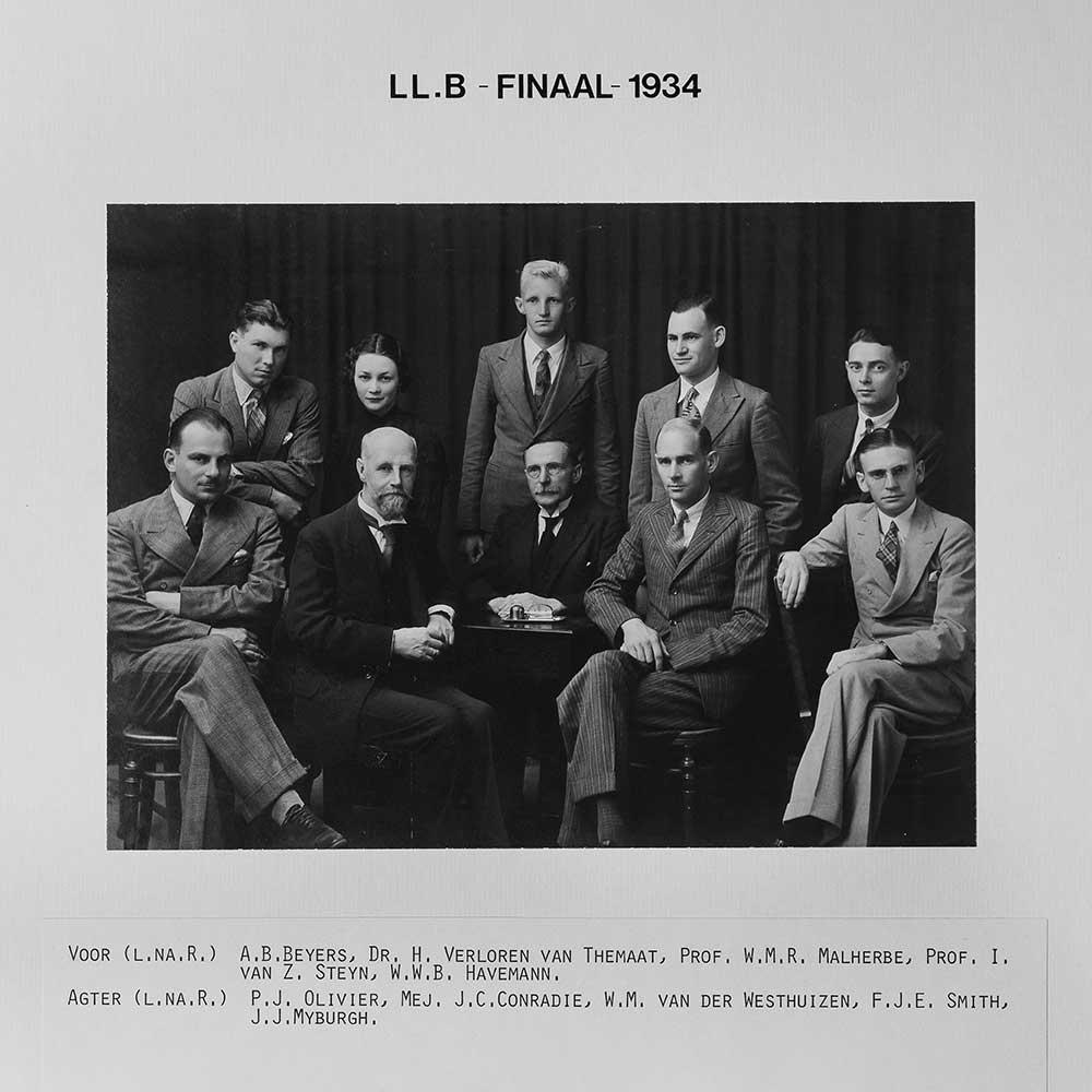 1934 LLB